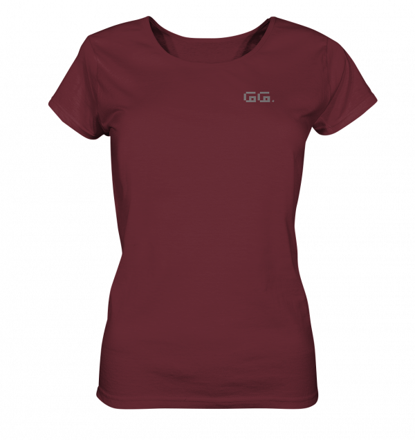 """GG"" grey Ladies Organic Shirt"