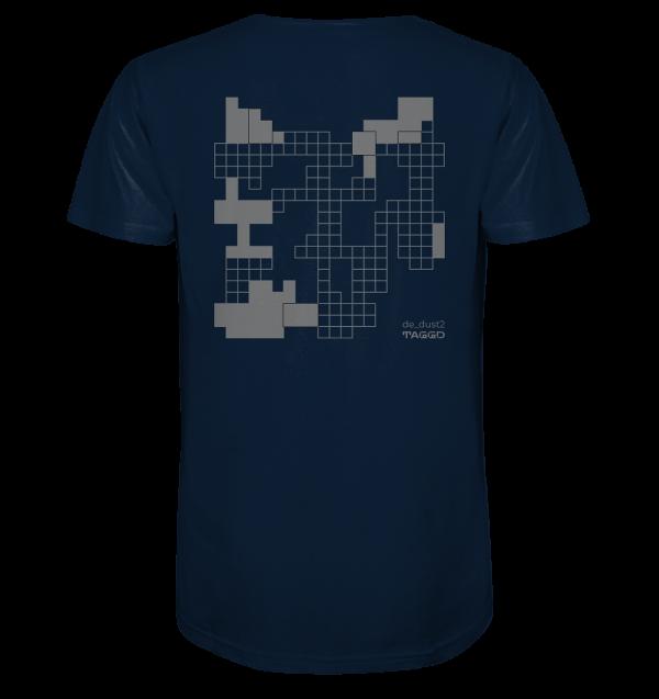"""""""de dust2"""" Rückendruck Organic Shirt"""
