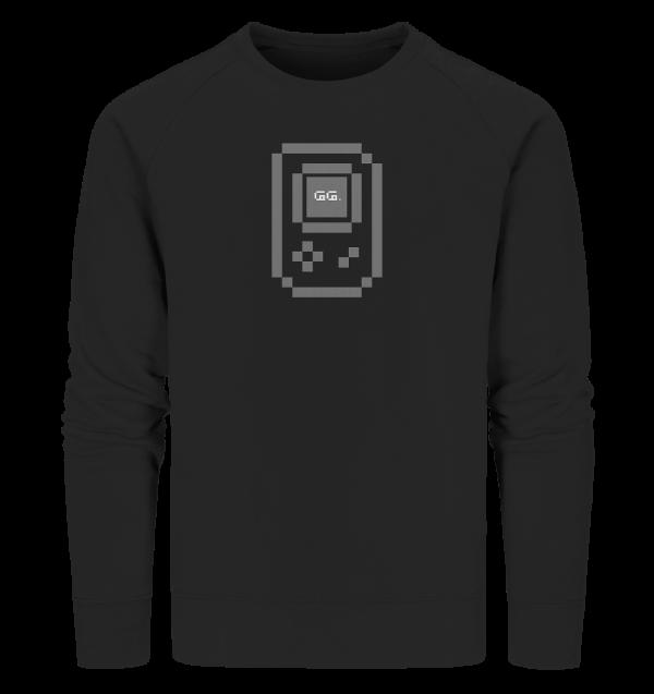 """gamebwoi"" grey, Organic Sweatshirt"