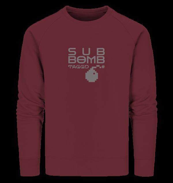 """""""sub bomb"""" Organic Sweatshirt"""