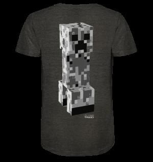 """mc creepa"" Mens Organic V Neck Shirt"
