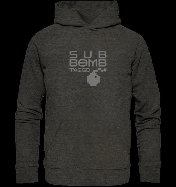 """""""sub bomb"""" Organic Hoodie"""
